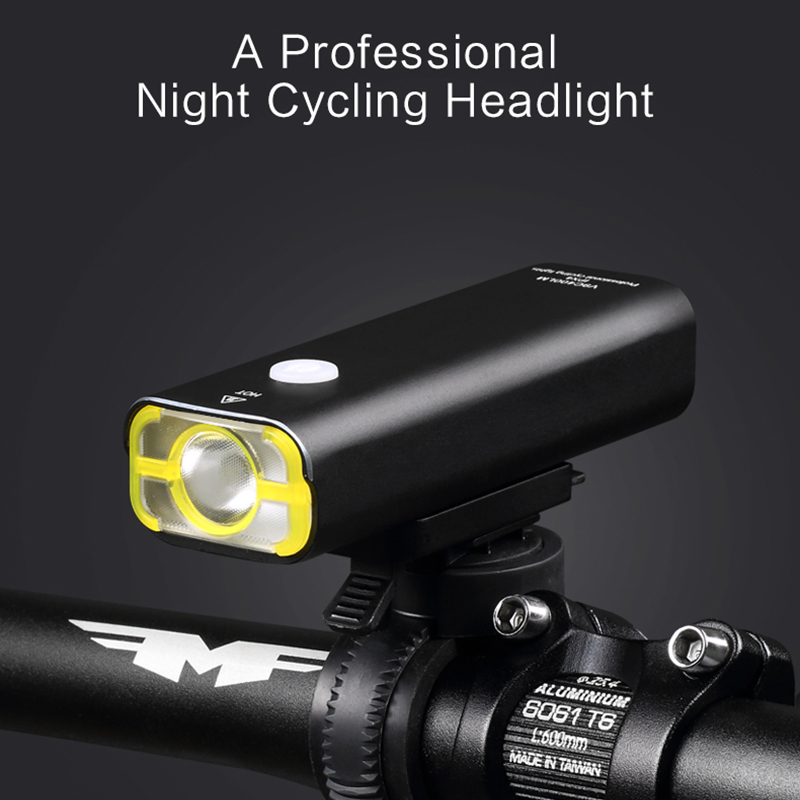 Wheel Up USB Rechargeable Bicycle Light IPX3 Waterproof Flash LED Bicycle Headlight for Handlebar Cycling Light Bike Accessories