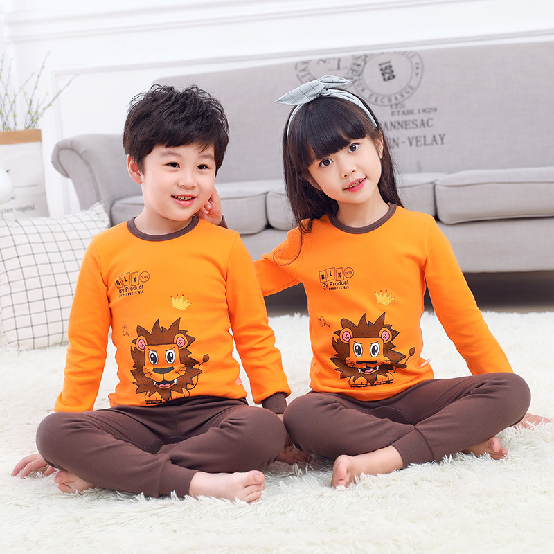BoysGirls   Pajama     Sets   for Kids Cotton Sleepwear Children Cartoon Clothes   Sets   for Teenage Girls   Pajama   Suits 8 10 11 12 14 Years