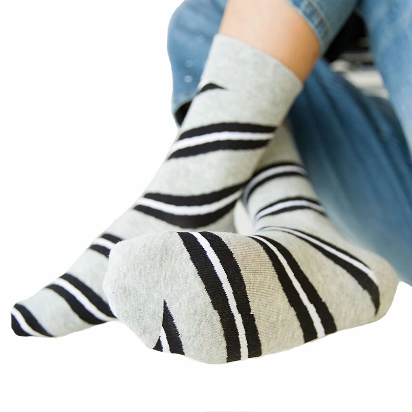 10Pairs Stripes Colorful Socks Man Hip hop Happy Socks 100% Socks Men Luxury Mens Dress Socks Soft Breathable High Quality