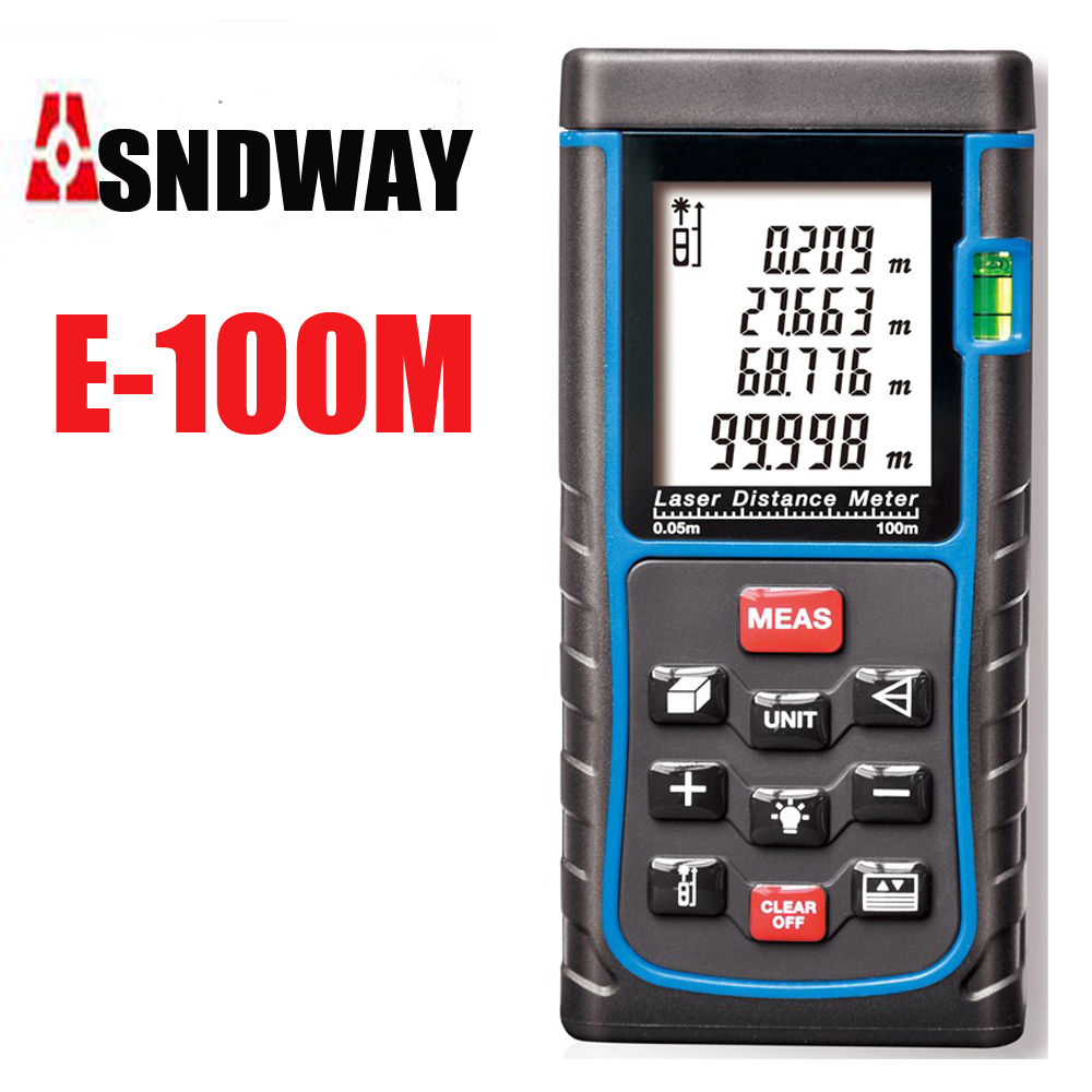 ФОТО Range finder 80m 100m 120m 150m Digital Distance meter , Electronic ruler ,Big Bubble level Tape measure Area/volume tool