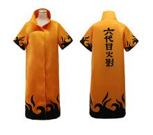 Anime Naruto Cosplay Cloaks Fourth Sixth Hokage Minato Uniform Halloween
