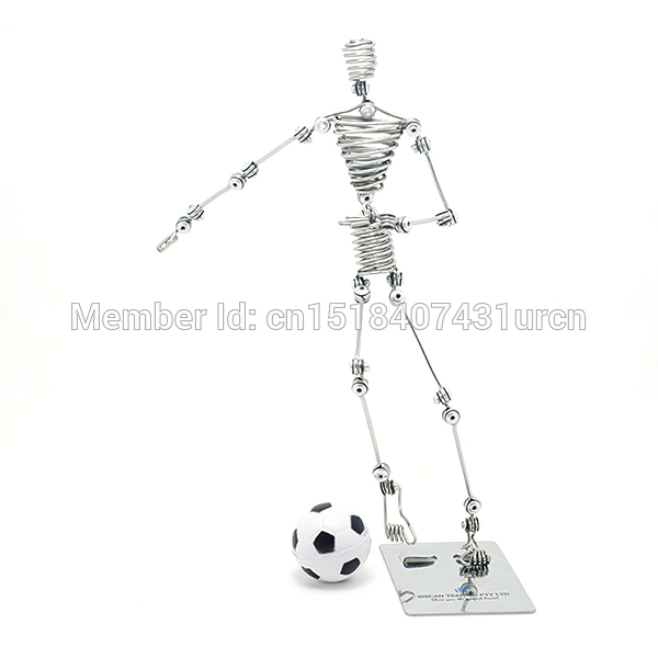 N3 FOOTBALL KID KEVIN SOUVENIR PUPPET / MANIKIN MANNEQUIN TOY / MODEL WEDDING & BIRTHDAY & HOME & OFFICE & GIFT & PRESENT