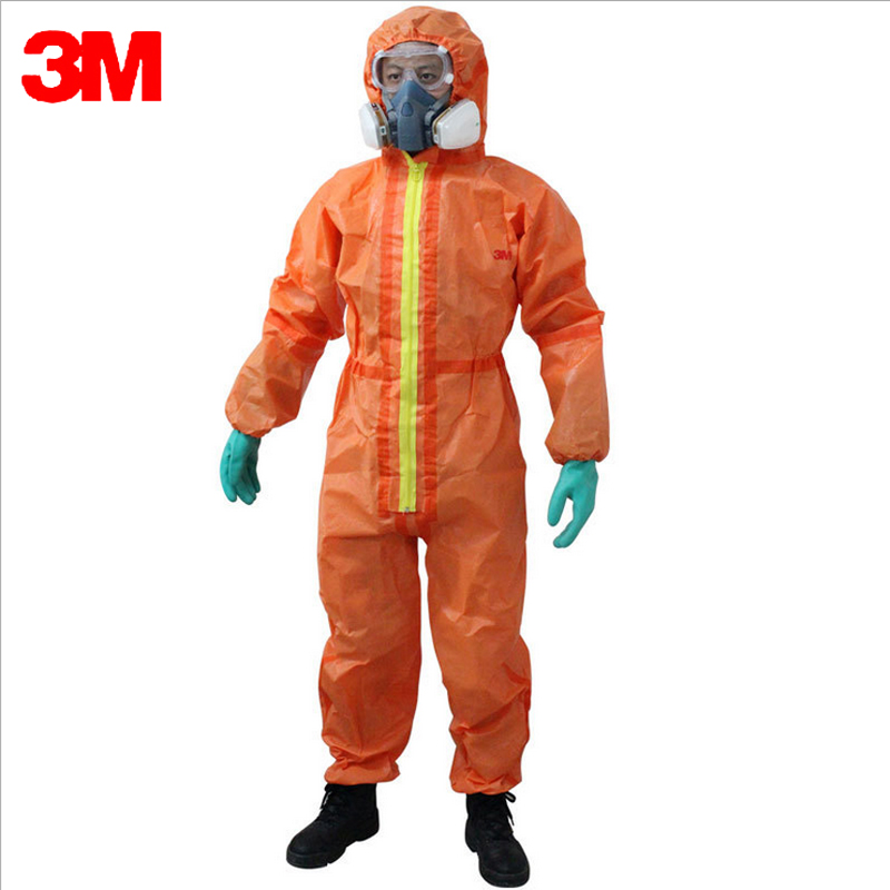 3M 4690 Disposable Medical protective clothing Coverall Anti Infectious blood/humoral spatter Anti Chemical Pesticides Splashes