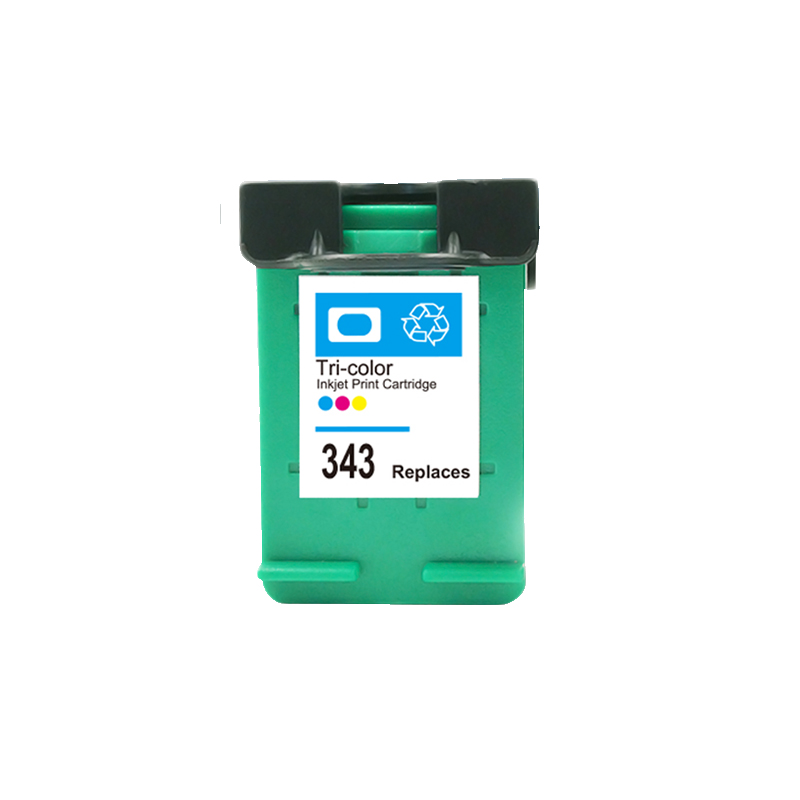 LuoCai Compatible <font><b>Ink</b></font> Cartridges For <font><b>HP</b></font> 343 PSC 1500 1510 1600 1610 2300 2600 2610 Photosmart <font><b>C3100</b></font> C3110 C3150 C3180 For HP343 image