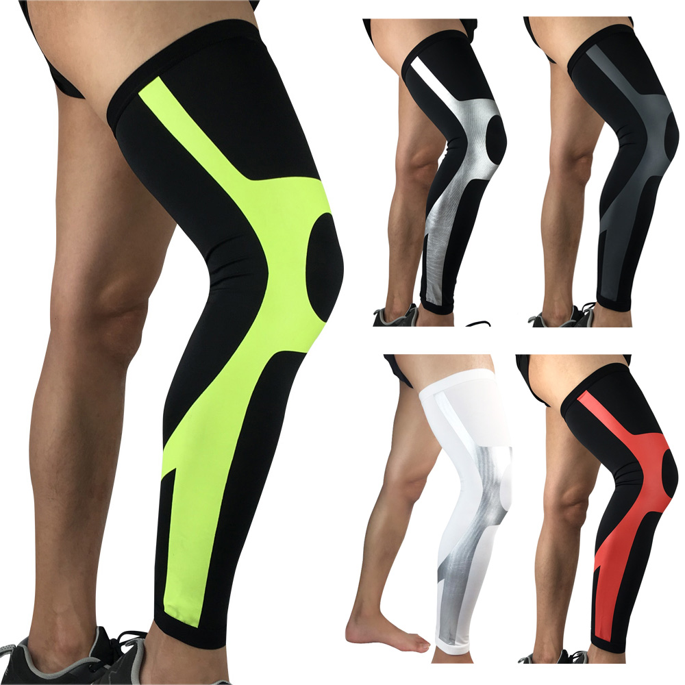 Elastic Compression Thigh Leg Sleeve Sports Protective Gear Protection Knee Pads LFSPR0058