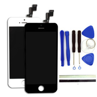 100 New AA For IPhone 5 5S 5C LCD Display Digitizer Touch Screen Replacement Phone Parts
