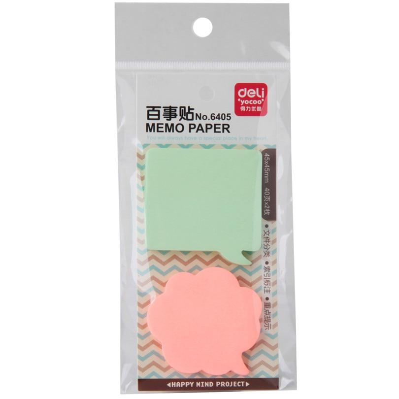 3 Kind Memo Pads Stickers Zelfklevende Zelfklevende Memoblaadjes Elk - Notitieblokken en schrijfblokken bedrukken - Foto 2