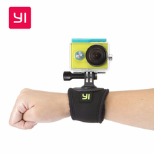 YI ручной ремешок крепление для Xiaomi YI Экшн-камера, спортивные руль 360 вращение для SJCAM/Gopro аксессуары для спортивной камеры