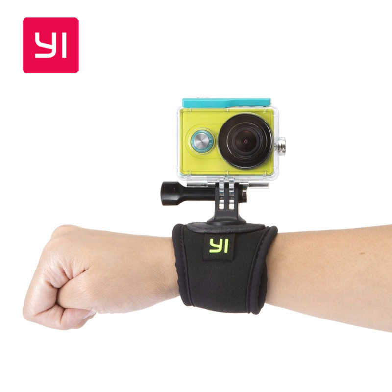 Original YI Hand Strap Mount for Xiaomi YI Action Camera Sports Handlebar 360 Rotation for SJCAM/Gopro Sports Camera Accessories