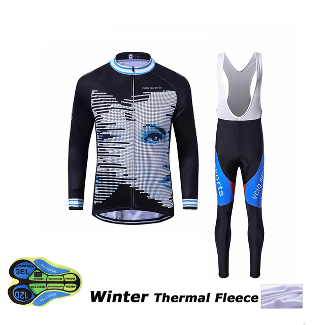 2018 Vciq sports ropa ciclismo invierno hombre winter thermal fleece  cycling clothing men mtb bike cycling d8018544d