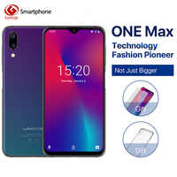 """Umidigi One Max 4G RAM 128GB ROM 6.3""""Mobile phone Helio P23 Octa Core Android 8.1 12MP+5MP Dual Cam wireless charge Cell phone"""