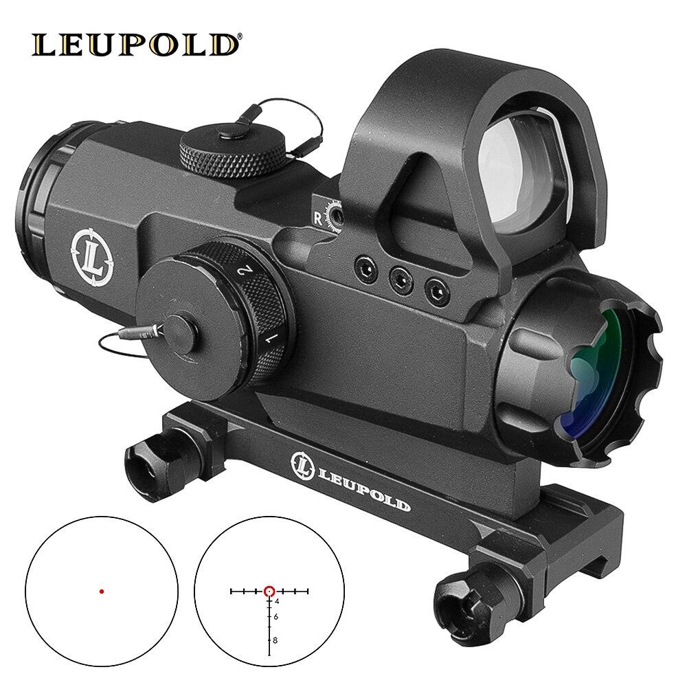 Leupold 4x24 Scopes Tactical HAMR Rifle Scope Lens Red Dot PP1-0403 Mark 4 High Accuracy Multi-Range Riflescope Hunting