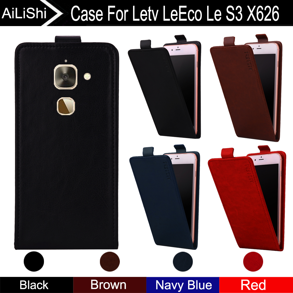 AiLiShi For Letv LeEco Le S3 X626 Case Up And Down Vertical Phone Flip Leather Case Phone Accessories 4 Colors Tracking !(China)