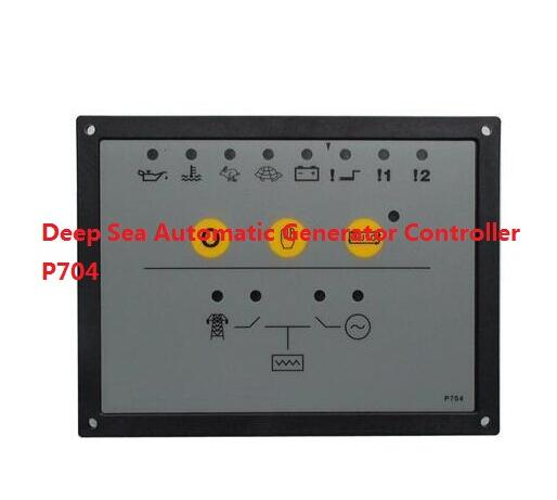 free shipping,Deep Sea Automatic Generator Controller P704 same quality as DSE704 free shipping deep sea generator set controller module p5110 generator control panel replace dse5110