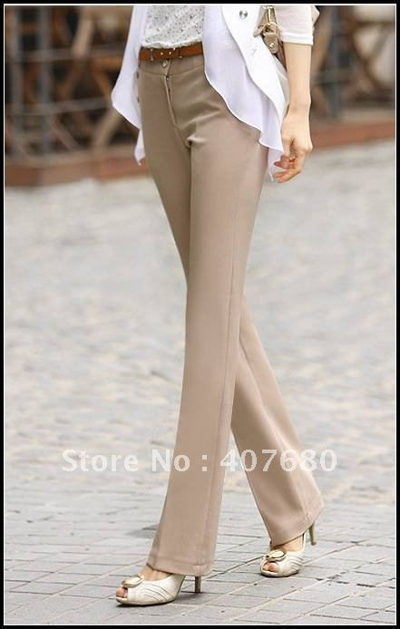 Popular Khaki Flare Pants-Buy Cheap Khaki Flare Pants lots from ...
