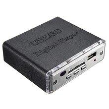 KENTIGER 12 В Мини-Автомобиль Мотоцикл Стерео Усилитель Amp LED USB/SD Цифровой Плеер MP3 с Пультом дистанционного управления