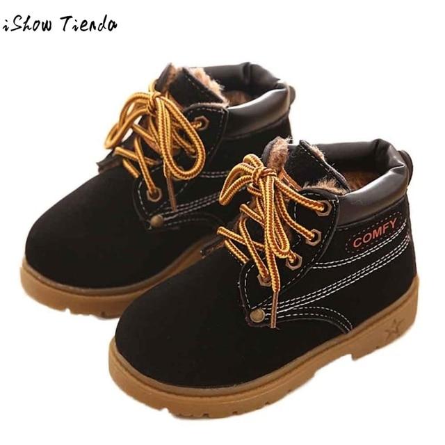 grande vente 91f2f 6ca74 € 7.61 15% de réduction|Offre spéciale hiver bébé bottes Enfant armée Style  Martin botte chaude bébé chaussures Chaussure Enfant bébé bottes d'hiver ...