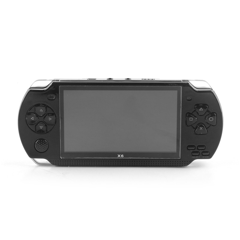 Console de vídeo game BOY GB X6 Handheld tela colorida retro clássico game console 8GB Embutido 300 jogos das crianças MP5 jogador