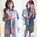 Diseñador de las mujeres abrigos de invierno abrigos mujer invierno 2016 abrigos de invierno abrigo mujer manteau hiver femme feminino casaco abrigo largo