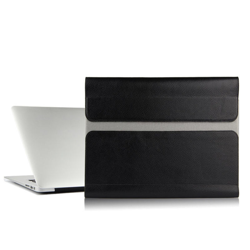 Etui en peau de vache pour Apple macbook pro 13.3 pouces pochette d'ordinateur en cuir véritable fichier poche ordinateur pour macbook pro13.3