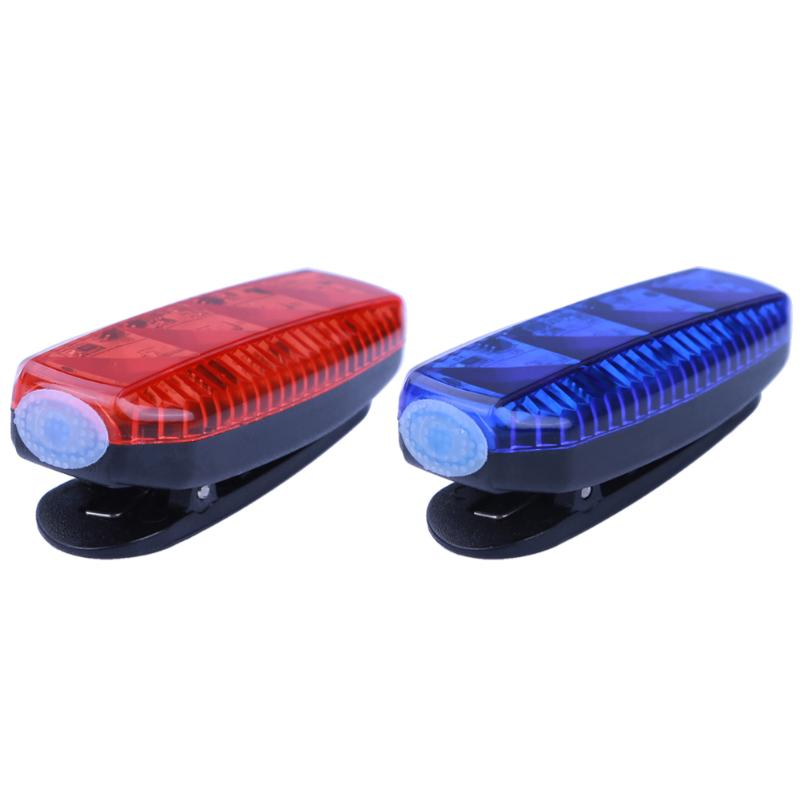 USB Rechargeable Bicycle Tail Light Rear Lamp Waterproof LED Light Cycling Warning Light Jogging Running Safety Head Lamp coolchange waterproof pc bicycle 3 mode 5 led tail warning lamp w holder blue white 2 x aaa