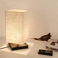 Modern Table Lamps masa lambasi Desk Lamp Lamparas de mesa Lamparas mesa abajur para qu LED Bedroom Lamps Bedside Vintage Table