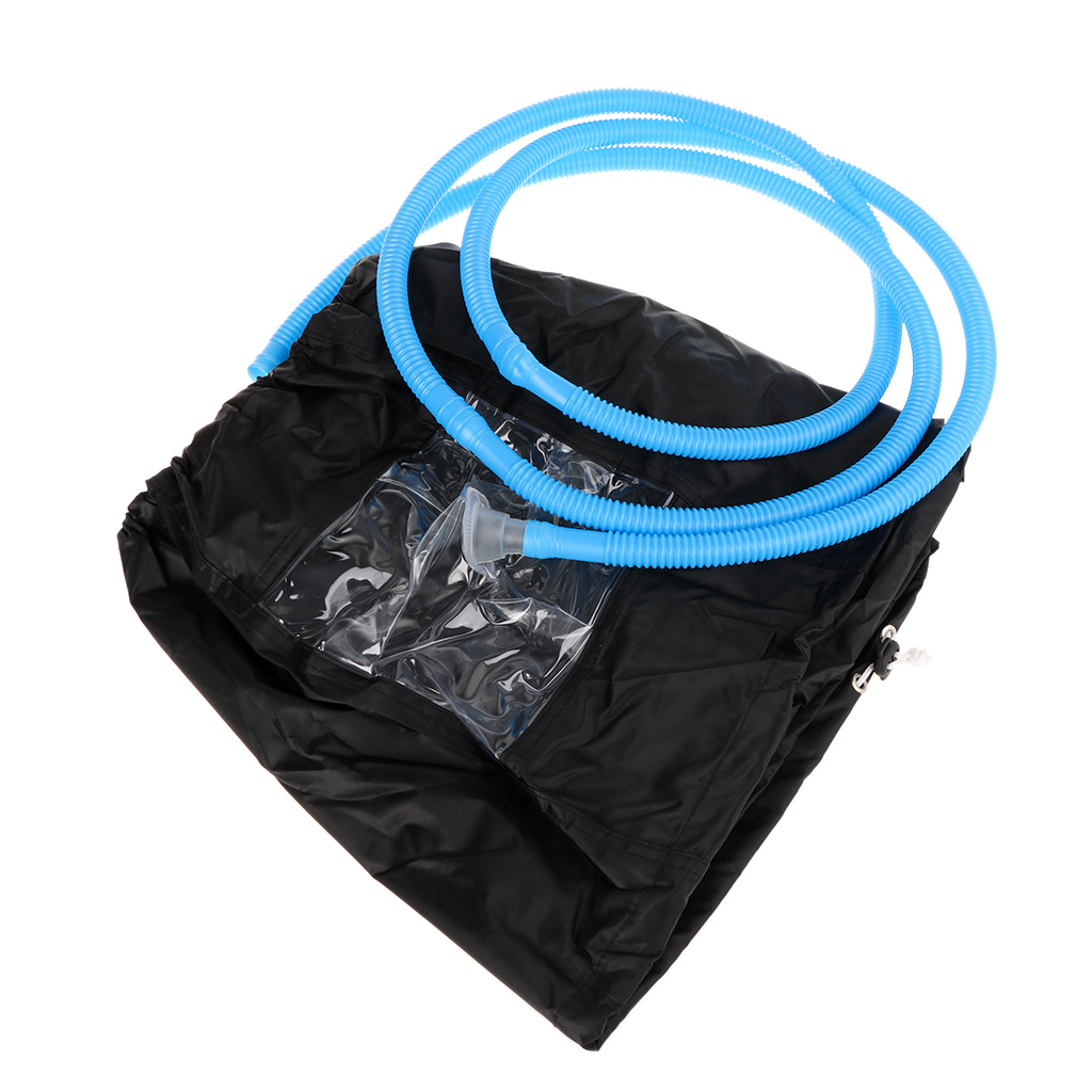 Black Air Conditioner Cleaning Dust Washing Cover Clean Waterproof Protector Cap With 3m Water Pipes
