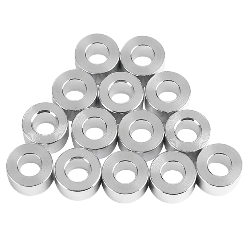 Aluminum Column Flat Gasket Bushing 6Mm Aluminum Bushing Aluminum Barrier 3D Printer Accessories For Openbuilds