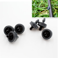 1000pcs/pack 4LPH Mini Pressure Compensating Drip Emitter On line Dripper PC Drip Emitter Drip Irrigation N113