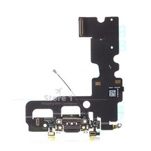 for iPhone 7 Original Genuine Charging Port Connector With Microphone and Signal Flex Cable for iPhone 7 4.7 inch 3 Colors