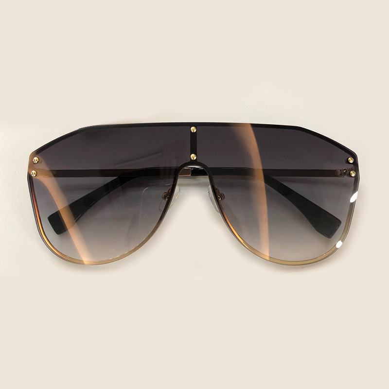 Women Luxury Brand Designer Oval Sunglasses 2019 Fashion Vintage Alloy Frame Eyewear Oculos De Sol Feminino