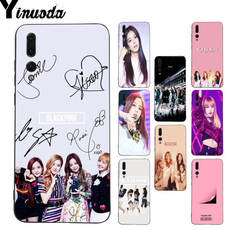 Loyal Yinuoda Black Pink Blackpink Kpop Coque Phone Case For Huawei P20 Lite P10 Plus Mate9 10 Mate10 Lite P20 Pro Honor10 View10 To Clear Out Annoyance And Quench Thirst Phone Bags & Cases Half-wrapped Case