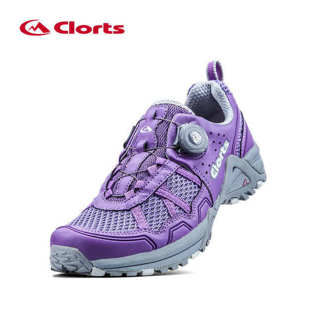 2018 outdoor women s BOA Lacing System Running Shoes Breathable Lightweight  Button control Elastic Sport Shoes camping Sneaker 2c0176b39