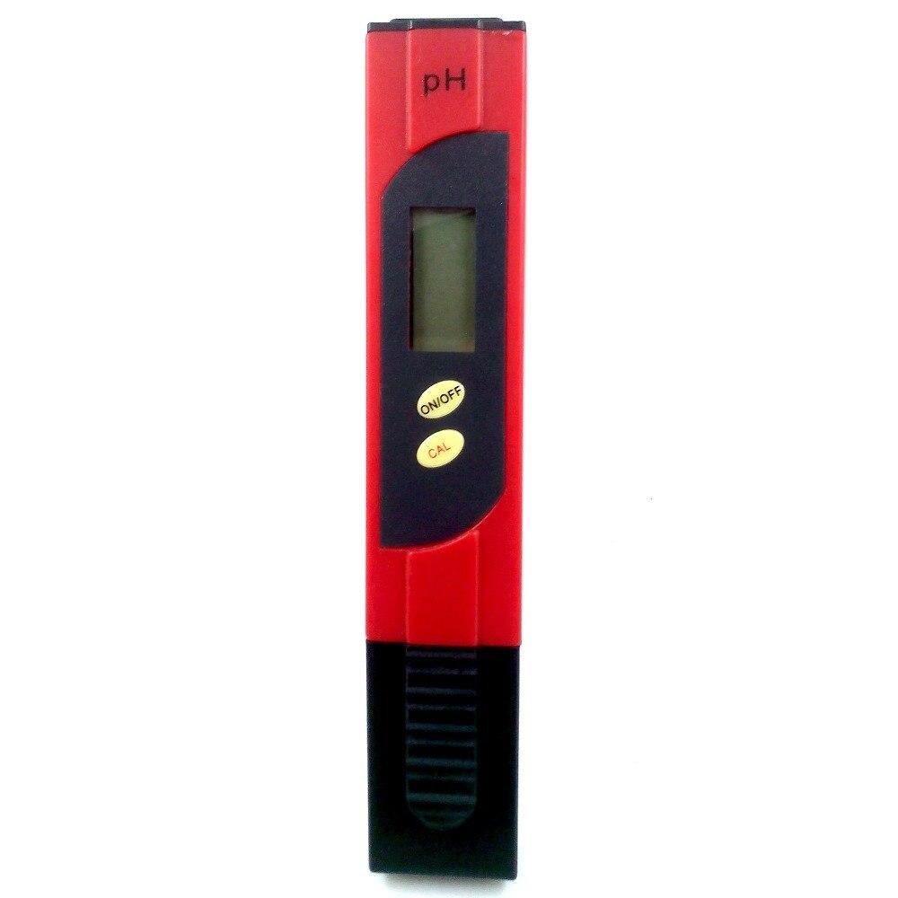 Tragbare PH Tester Meter Für Boden Aquakultur PH Wert Monitor Stift Detektor Boden Aquarium High-präzision PH-Meter
