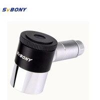 SVBONY 1.25 Illuminated Eyepiece 12.5mm Double Line Crosshair Reticle Eyepiece 4 Plossl Design 40 De FOV Telescope F9132