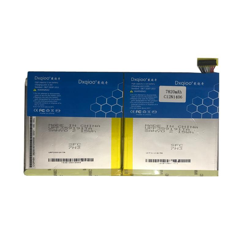 Dxqioo C12N1406 batterie pour ASUS transformateur livre T100TAL T100 T100T batteries