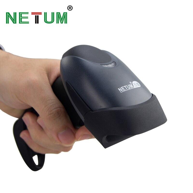 NETUM M2 Scanne E M5 CCD Scanner de código de Barras E M7 Bluetooth Sem Fio Wired 2D QR Leitor USB Leitor de código de Barras para POS e Inventário