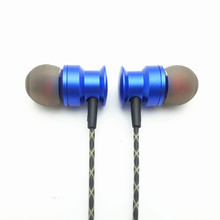 RY6 Original Stereo Bass earphone Headphone Metal handsfree Headset 3.5mm Earbud for Mobile Phone mp3 Player(IE800 style cable)