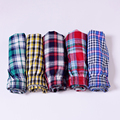High Quality Plaid Men Boxer Shorts Mens Underwear Cotton Underwear Boxers for male  Homme Boxer Loose Panties