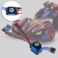 Racing 60A ESC Brushless Electric Speed Controller For 1 10 RC Car Truck 2016