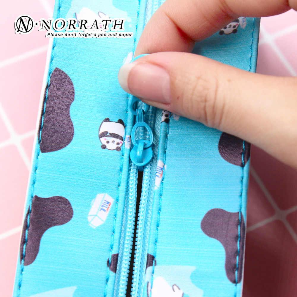 Cute Kawaii Pencil Case Creative Milk Pencil Bag For Kids Gift Novelty