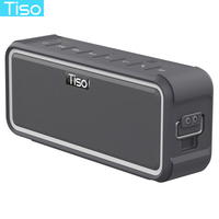 Tiso T15 IPX7 Waterproof Bluetooth Speaker NFC Wireless 20W Output Stereo Loudspeaker Outdoor Sports Portable Hook