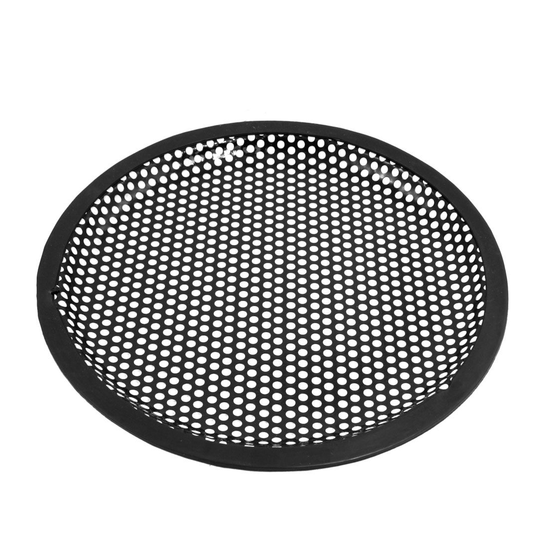 uxcell 5 inches Speaker Grill Mesh Decorative Circle Woofer Guard Protector Cover Audio Parts Silver