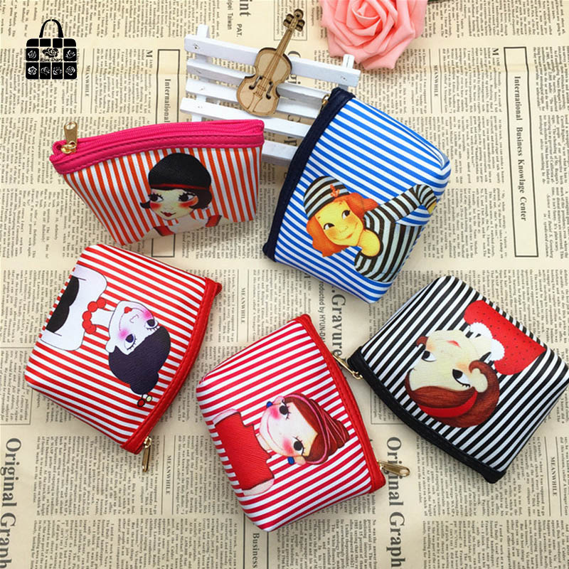 ROSEDIARY Women Cute girl waterproof PU Hasp lady zero wallet Girls Coin Bag lady handbag Pouch Purse Wallet Purse bag