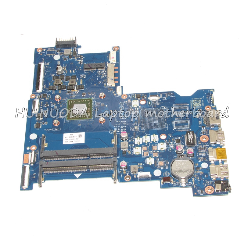 NOKOTION original 813969-001 Laptop motherboard For HP Notebook 15-AF ABL51 LA-C781P 813969-501 nokotion 814611 001 818074 001 laptop motherboard for hp 15 af series abl51 la c781p mainboard full test