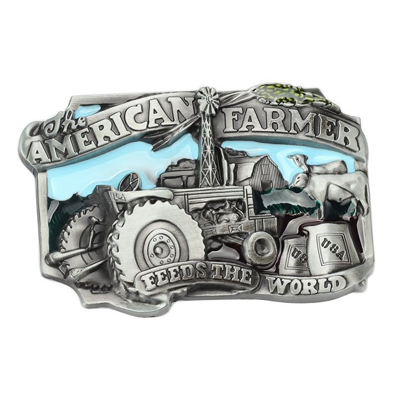 American Farmers Buckle The European And American Smooth Buckle