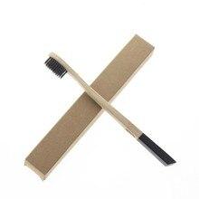 FDA Сертификации 2 Шт./компл. 18.5 см Плоская Ручка Дешевые Взрослых Натурального Бамбука Лучших Хорошая Зубная Щетка Зубная Щетка(China (Mainland))