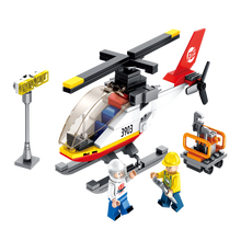 LOZ Building Blocks Airport Series Miniature DIY Creative Toys for children gifts