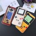 Máquina de jogo clássico pintado colorido menino dos desenhos animados tampa traseira case para iphone 5 5s 6 6 s 7 além disso tpu + pc telefone casos