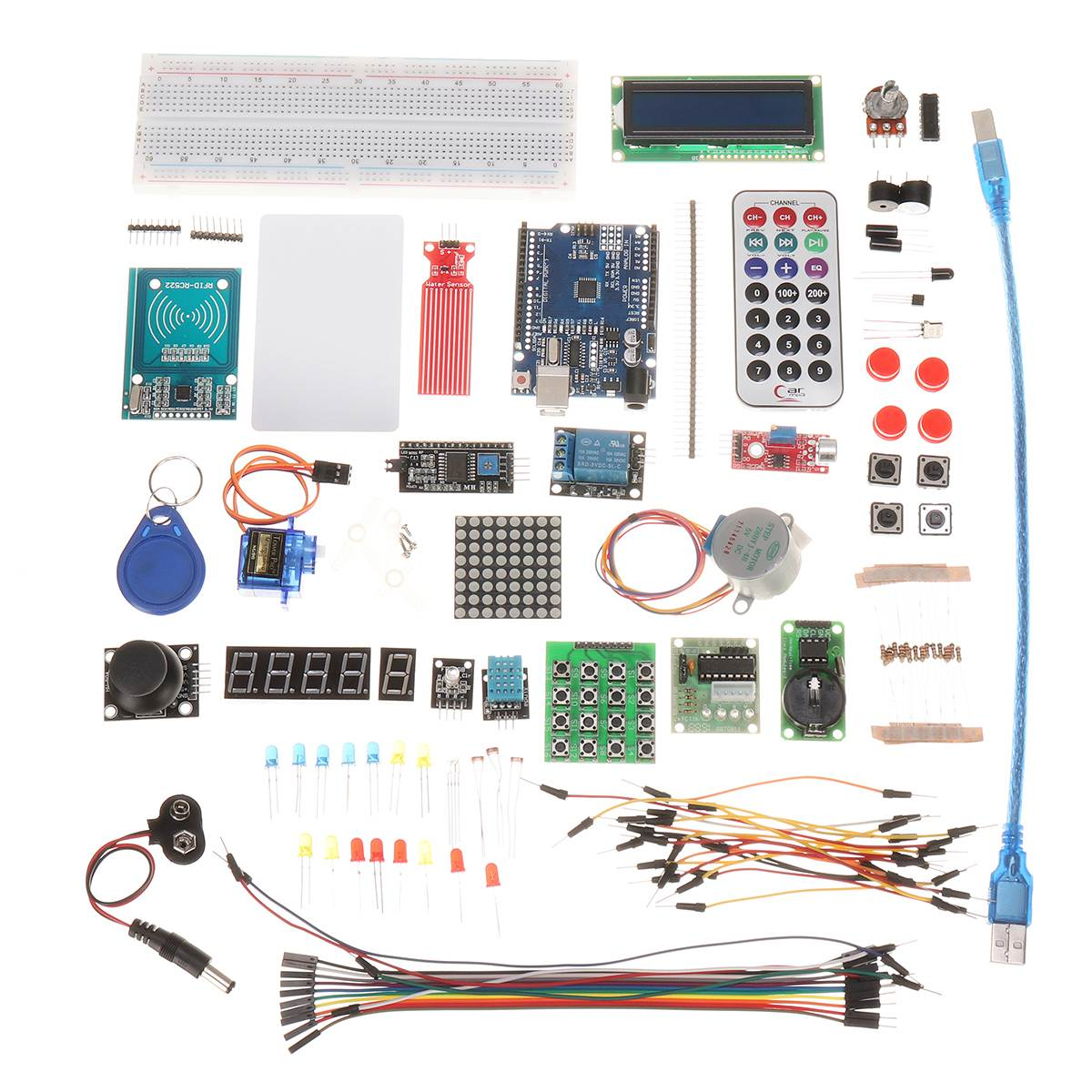 1Set RFID Starter Kit UNO R3 KIT Upgraded Version Of The RFID Learn Suite For Arduino Compatible With UNO R3 With Tutorials